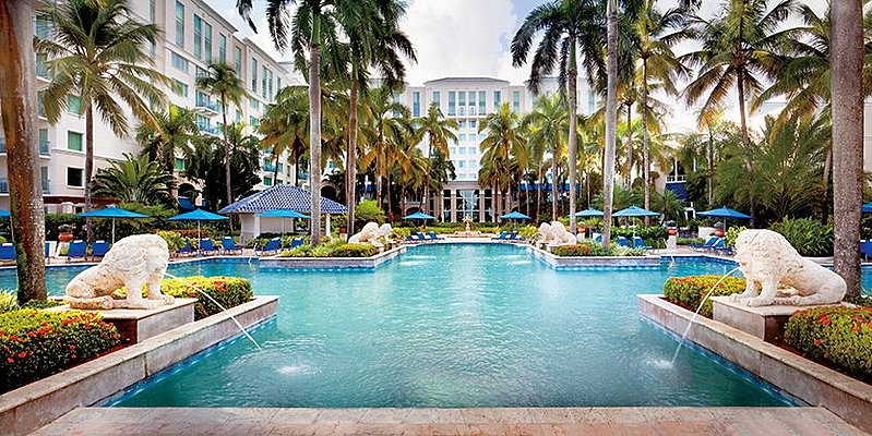 Poolbereich - The Ritz-Carlton, San Juan