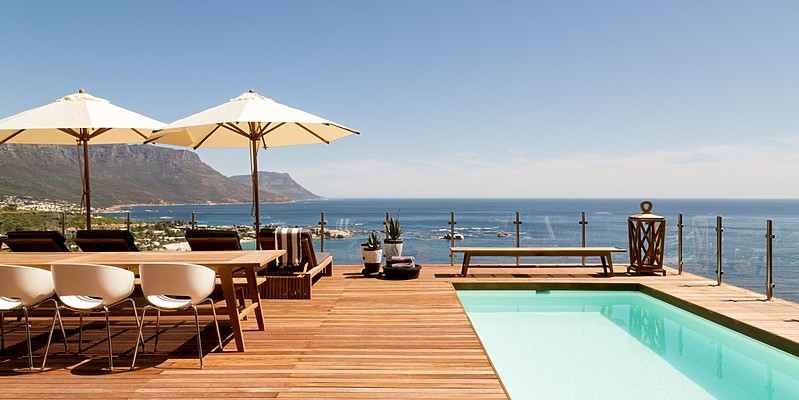 Pooldeck - Cape View Clifton