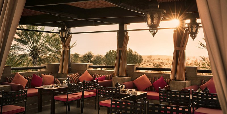 Rooftop Lounge - Bab Al Shams Desert Resort