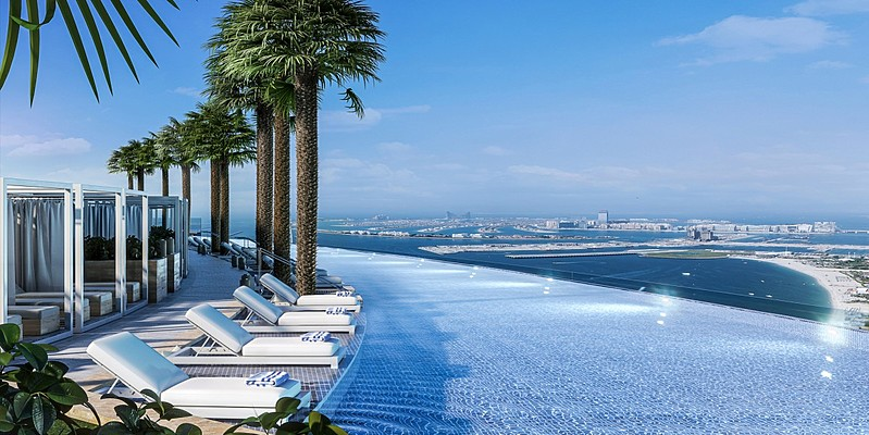 Rooftop Pool - Address Jumeirah Resort