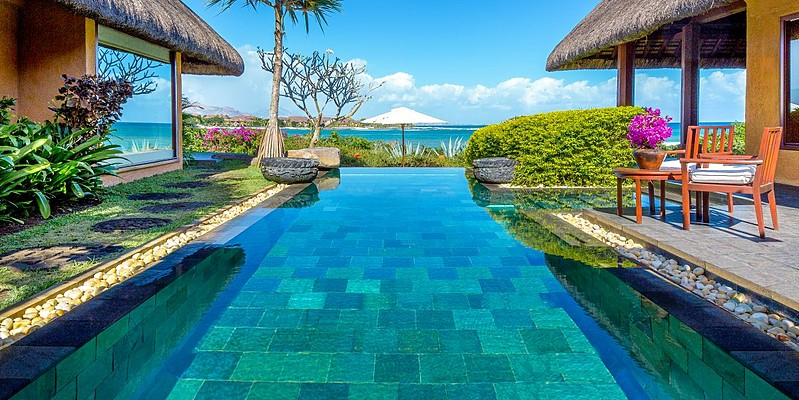 Royal Villa - The Oberoi Beach Resort Mauritius