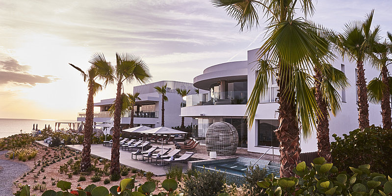 Spa und Restaurant - Seven Pines Resort Ibiza