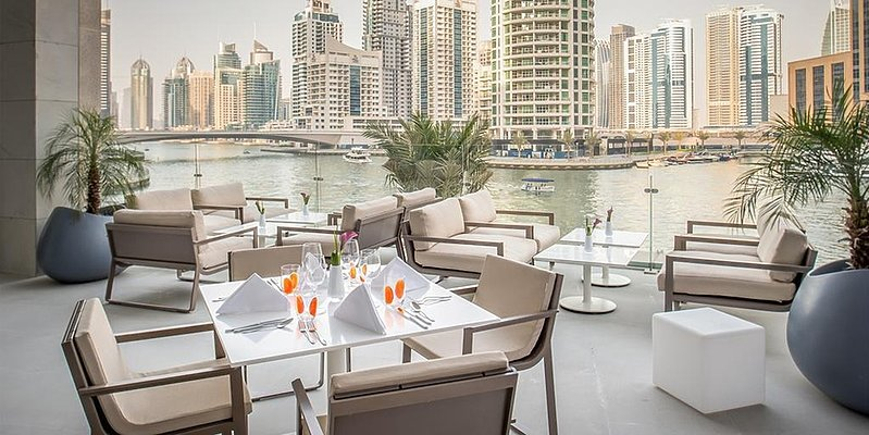 Terrasse - InterContinental Dubai Marina