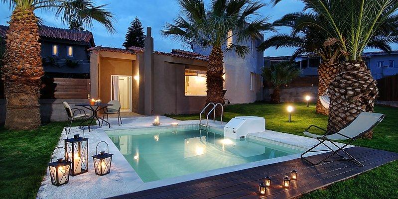 Villa privater Pool - Paradise Island Villas
