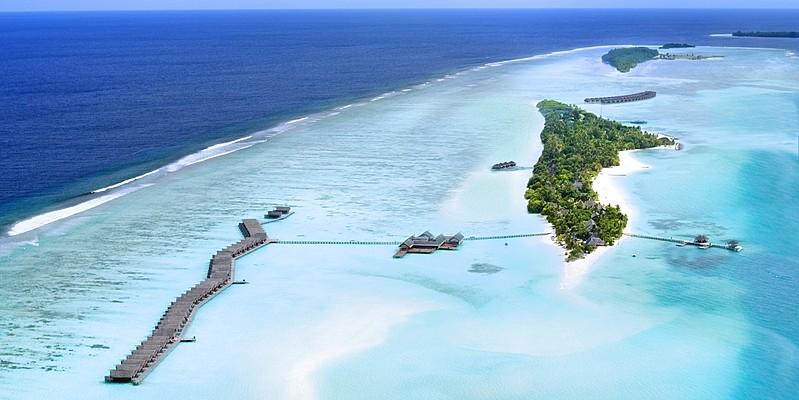 Vogelperspektive - LUX South Ari Atoll