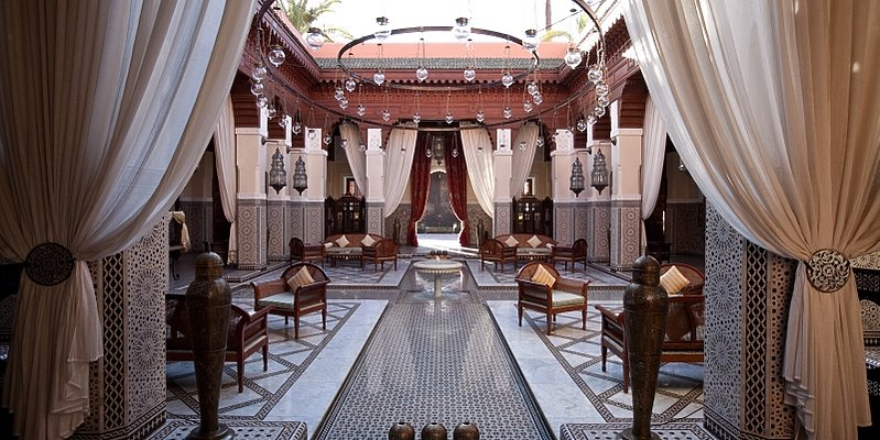 Royal Mansour - Lobby