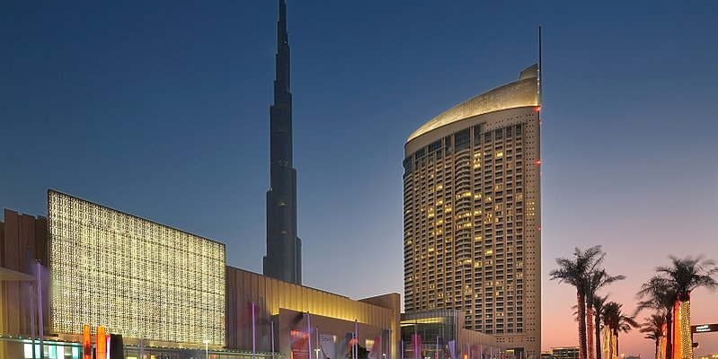 Aussenansicht - The Address Dubai Mall