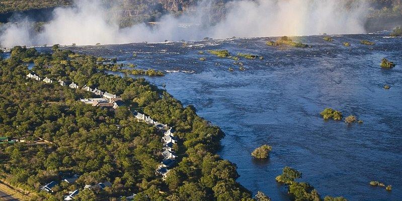 Zambia - Viktoria Wasserfälle - Hotel Royal Livingstone