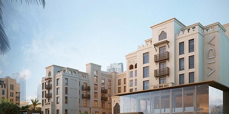 Aussenansicht (Modell) - Vida Downtown Dubai