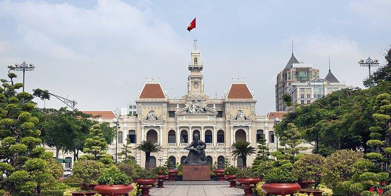 Ho Chi Minh City - Rathaus