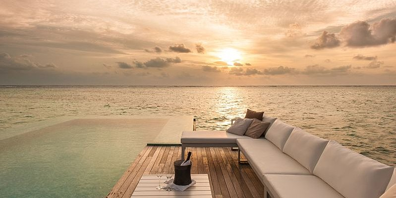 Sunset Water Villa